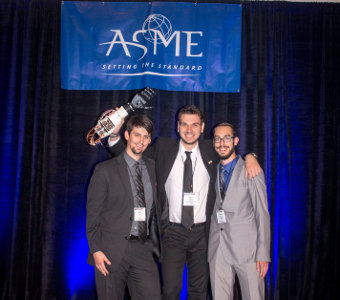 Three Tennessee Tech students win best innovative design in international competition