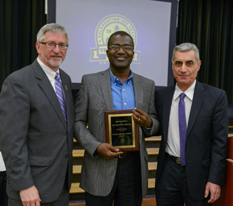 Badoe wins excellence award from TTU