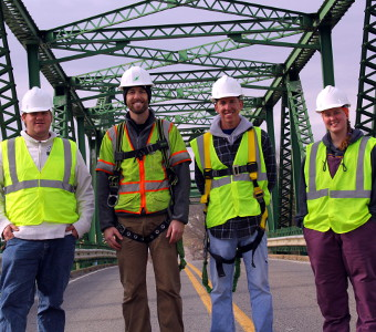 TTU civil engineering team conducts bridge study