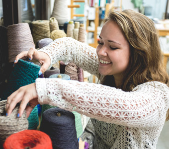TTU fibers student expands talents after NYC internship