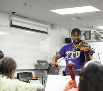 TTU youth strings program presents first concert