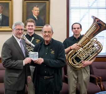 Tennessee Tech tuba ensemble releases 27th recording