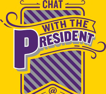 Chat with the President Tuesday