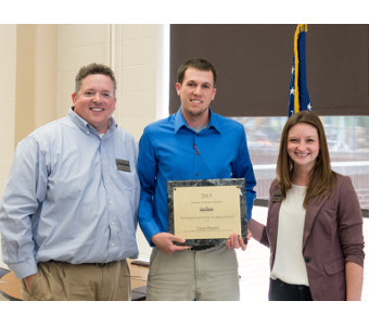TTU student, faculty member receive service learning award