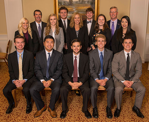 Photo of the 2017-18 American Bank & Trust Student Advisory Board
