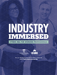 cover of Industry Immersed brochure