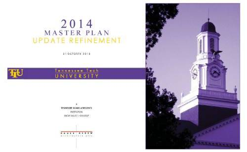 Cover Page 2014 Master Plan