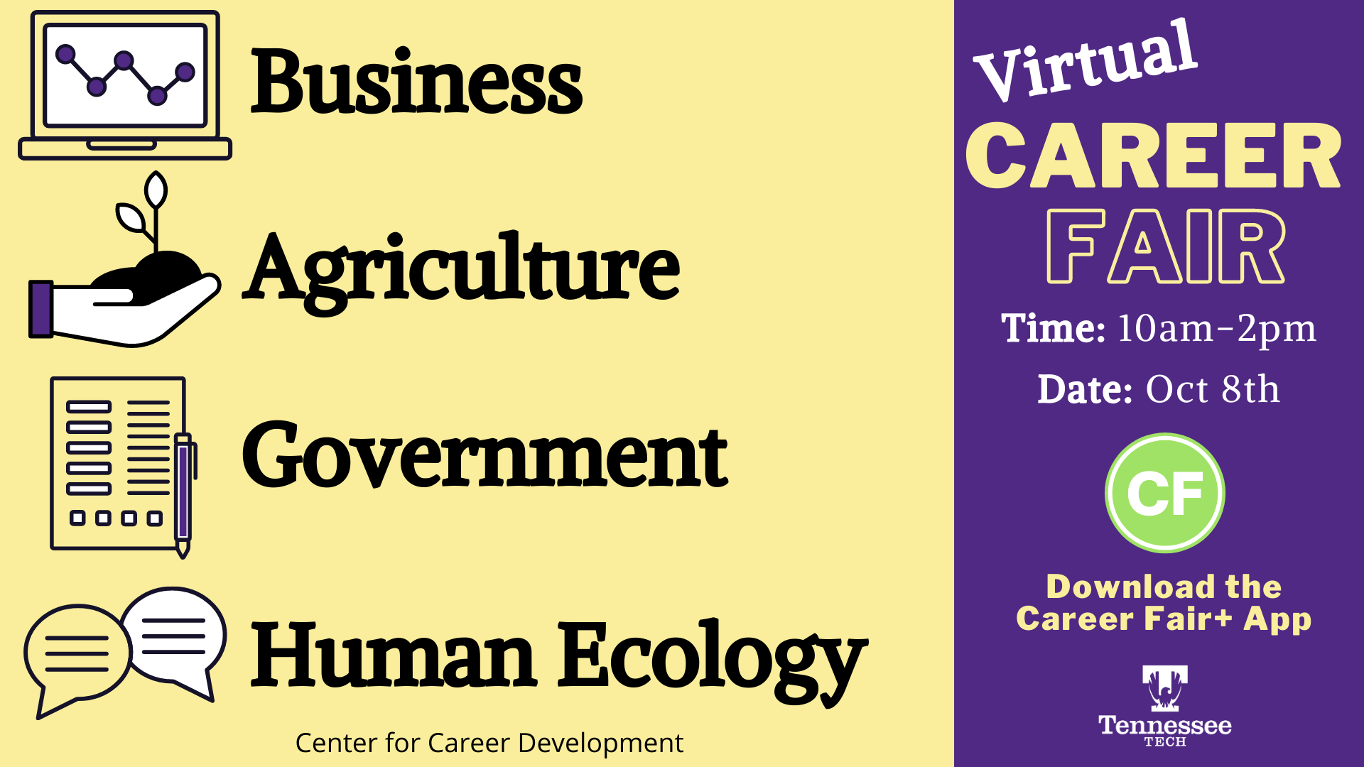 Business, Agriculture, Government, and Human Ecology fair