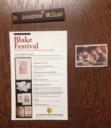 Blake Festival Announcement