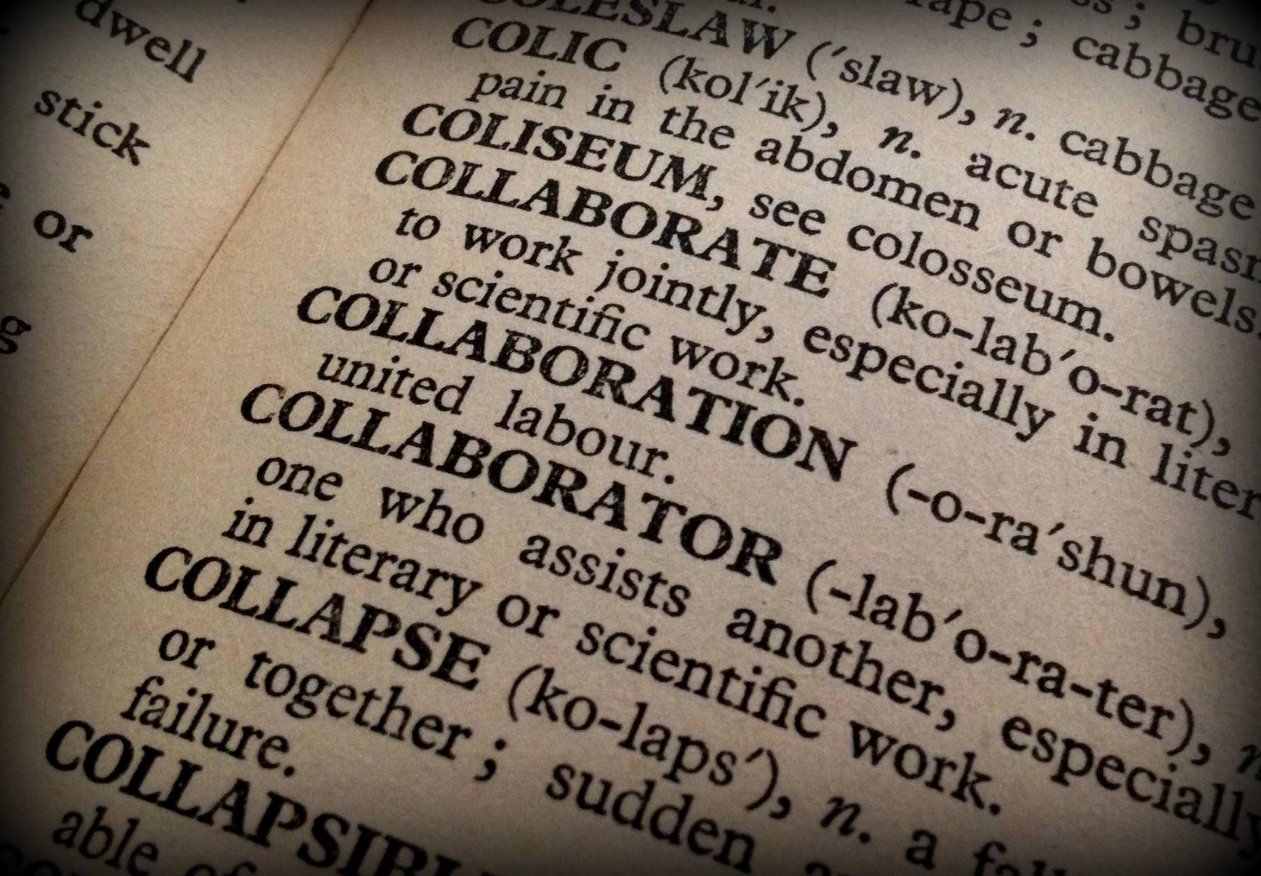 Collaboration definition
