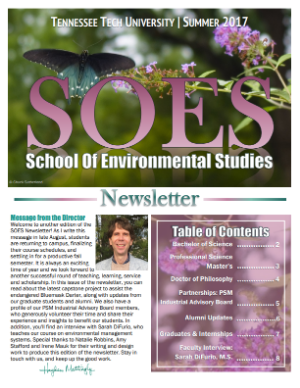 SOES Summer 2017 Cover