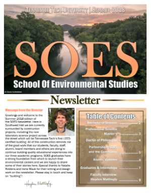 SOES Summer 2018 Cover