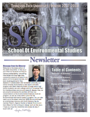 SOES Winter 2017 Cover