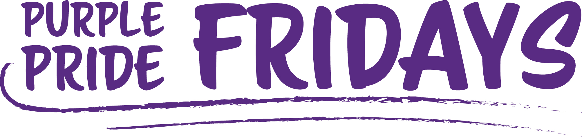Purple Pride Friday Logo