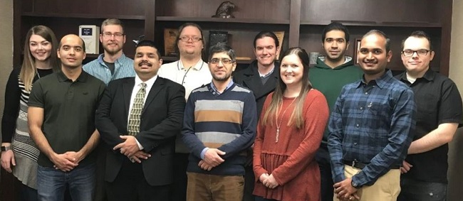 12 doctoral students from the College of Engineering
