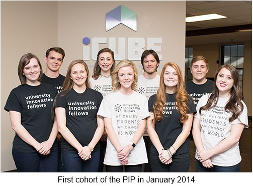 First cohort of the PIP in January 2014 group photo