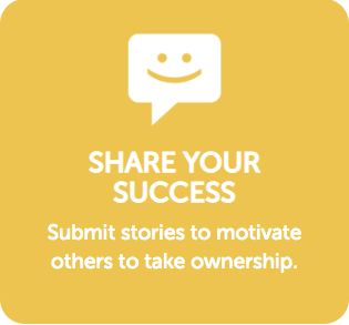 Share Success Button