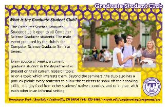 Learn more about the Graduate Student Club