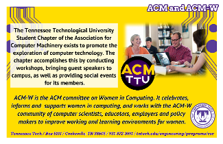 Learn more about ACM and ACM-W
