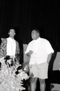 1990 Omega Psi Phi Fraternity Fashion Show and Reception