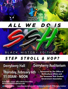 All We do is Stroll, Step, Hop Feb 6th