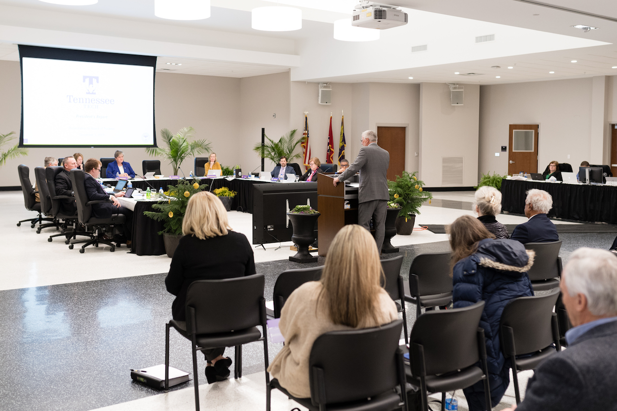 Tennessee Tech's Board of Trustees took steps today to make college costs easier to understand and to help position the university as a strong option for out-of-state students.