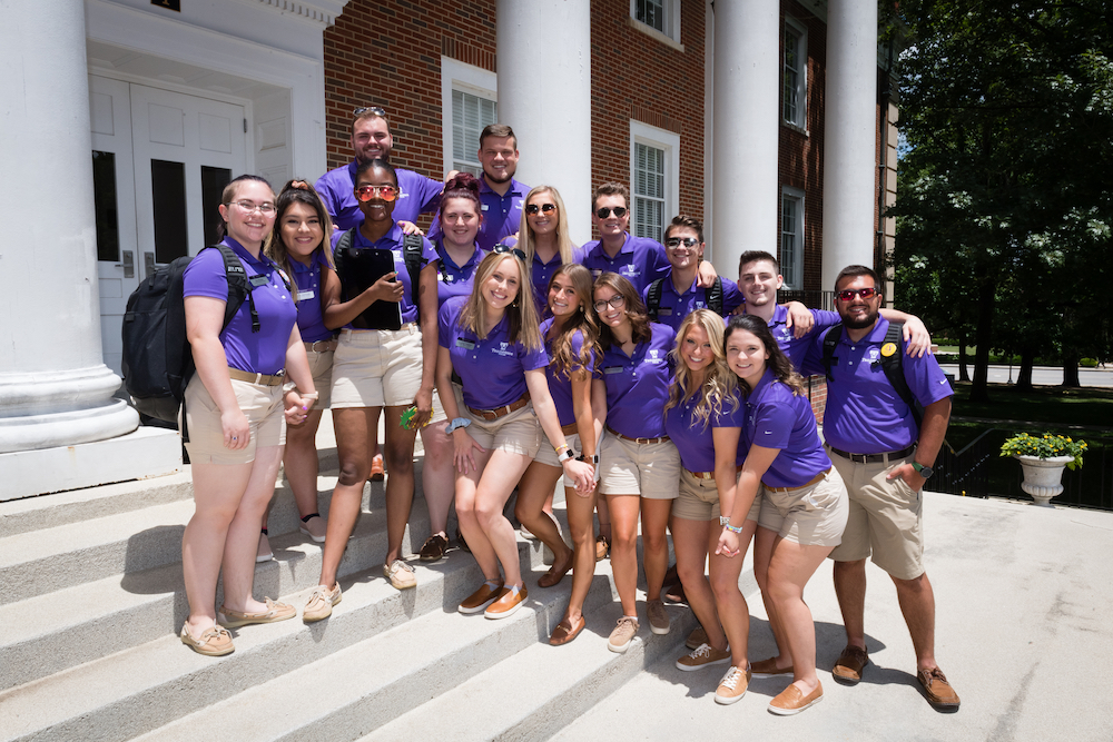 Students attending a SOAR session will be greeted by a group of enthusiastic and knowledgeable students known as student orientation assistants.
