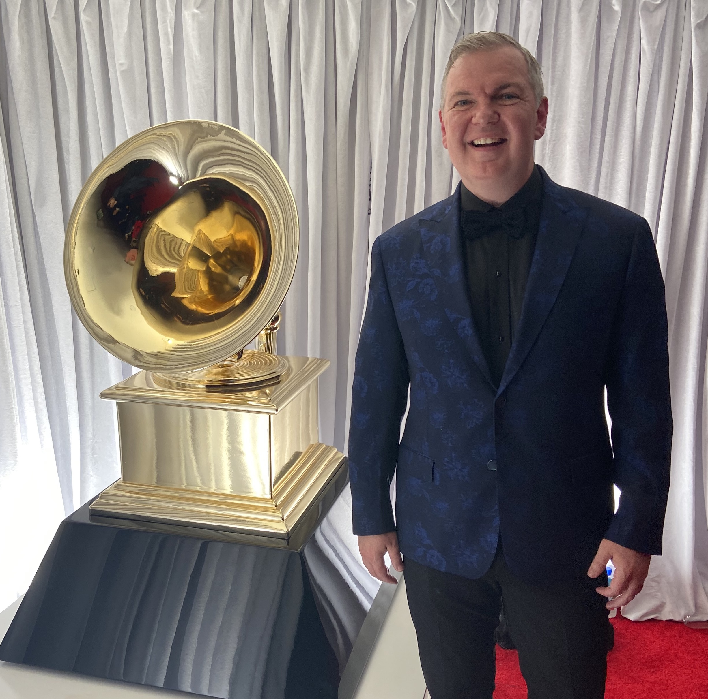 Craig Terry is one of five people who won the Best Classical Solo Vocal Album Grammy, his first nomination and win, during the 62nd annual Grammy Awards issued Jan. 26 in Los Angeles.