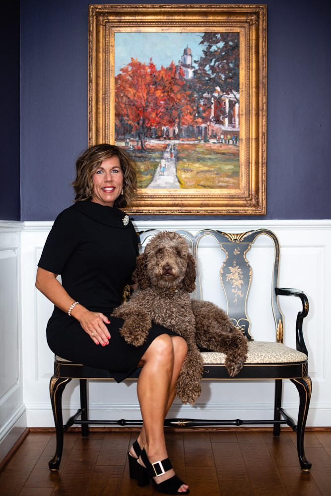 Portrait of First Lady and Maggie