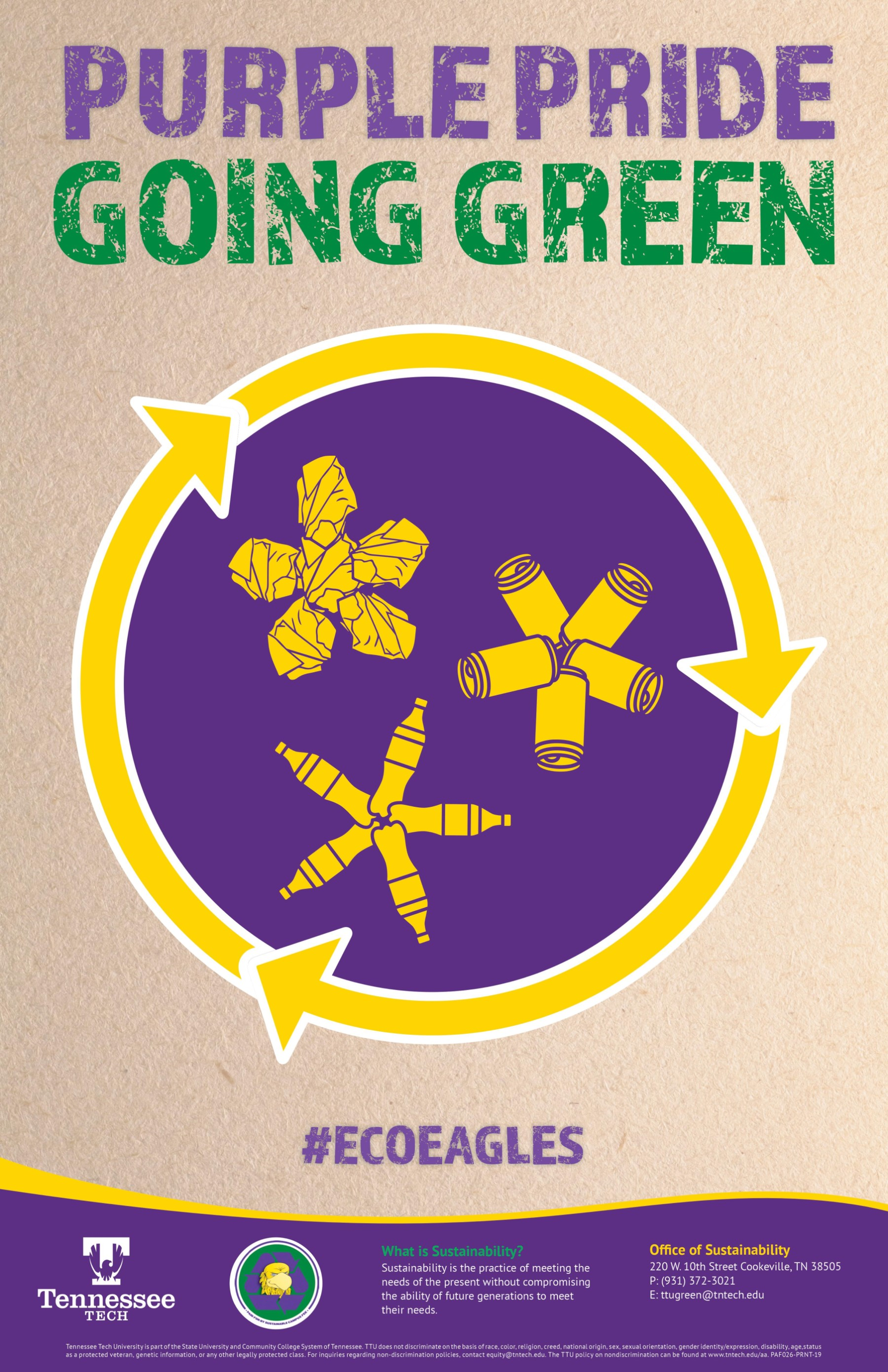 Purple Pride Going Green
