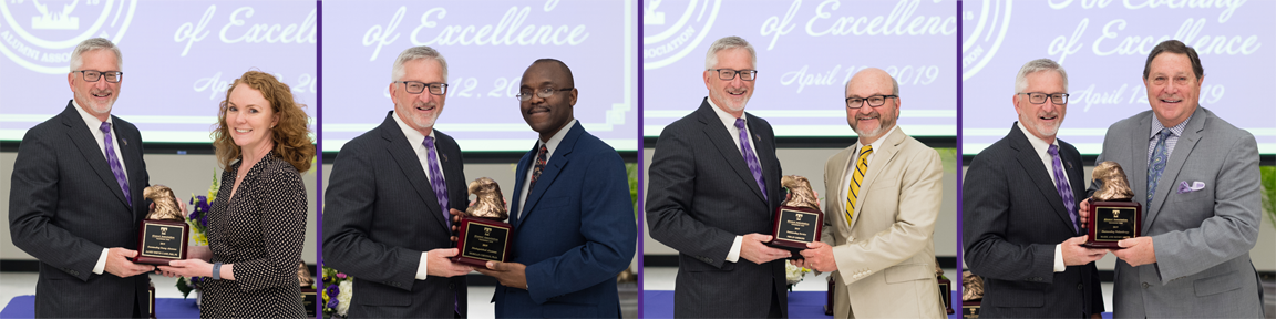 Recipients of 2019 Alumni Awards