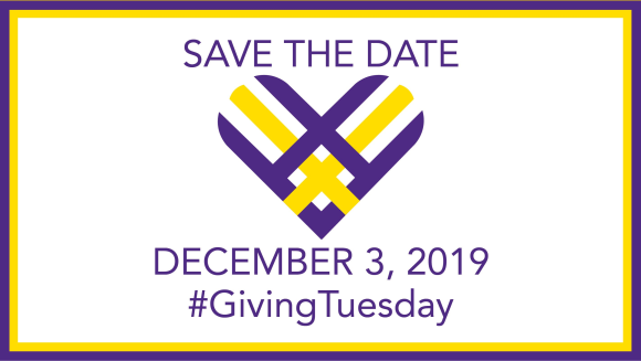 Save the Date, December 3, 2019 #Giving Tuesday