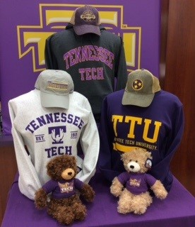 Tennessee Tech apparel and teddy bears