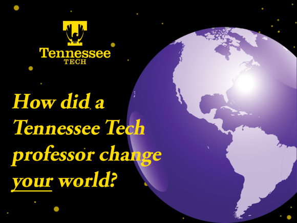 What professor changed your world?