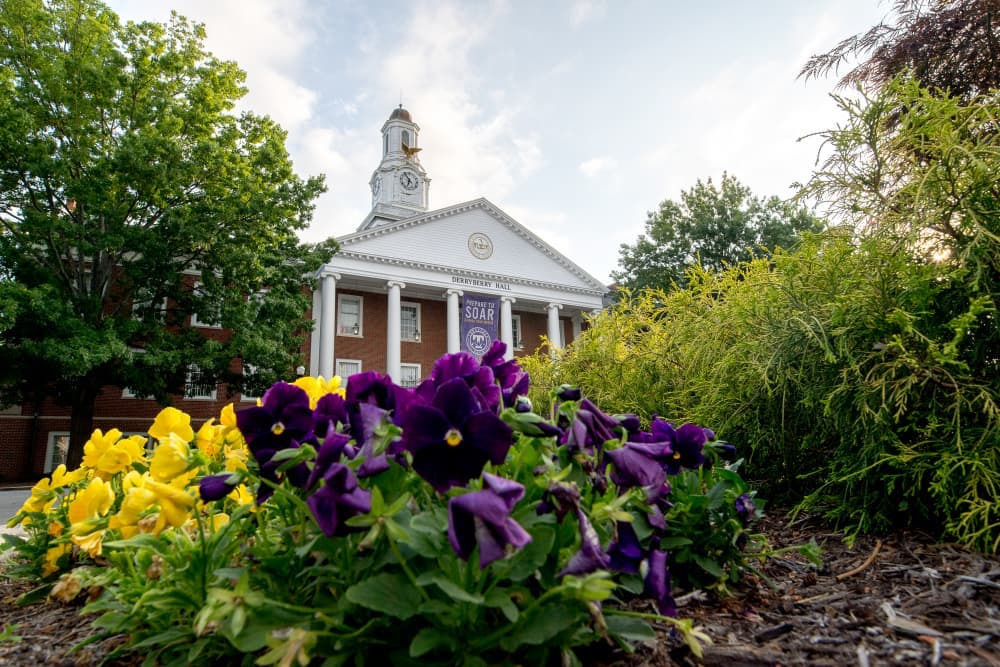 Derryberry Hall at Sunrise